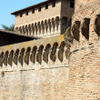 Fortress of Ravaldino in Forl, Italy - Stock Photo