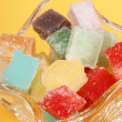 Stock Photo: Mixed fondant candies