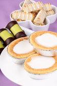 Assortment of Swedish and Danish sweets — Stock Photo