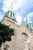 Sainte Cecile Church in Montreal — Stock Photo
