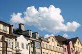 Kleurrijke huizen in innsbruck — Stockfoto
