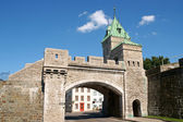 Porte Saint Louis City Gate, Quebec City — Stock Photo