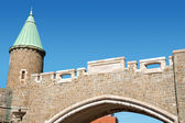 Porte Saint Jean City Gate, Quebec City — Stock Photo