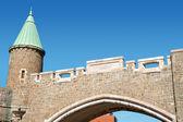 Porte Saint Jean City Gate, Quebec City — Stock Photo