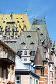 Roofs of Quebec City — Stock Photo