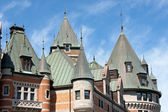 Chateau Frontenac in Quebec City — Stock Photo