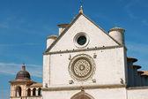 Papal Basilica of Saint Francis of Assisi - San Francesco — Stock Photo