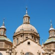 Basilica-Cathedral of Our Lady of the Pillar in Zaragoza — Stock Photo #7244977