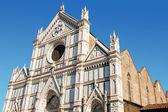 Basilica of Santa Croce, Florence — Stock Photo