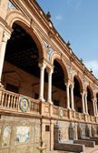Detail of Plaza De Espana in Seville — Stock Photo