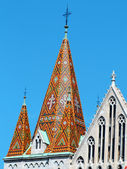 Matthias Church — 图库照片
