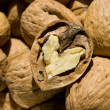 Stock Photo: Nuts closeup