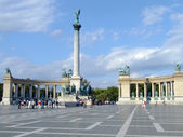General view of Heroes' Square — Stock Photo