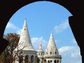 Fischer Bastion in budapest — Stockfoto