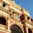 Plaza de Toros La Misericordia in Zaragoza - Stock Photo