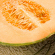 Stock Photo: Melon closeup