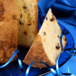 Stock Photo: Panettone, italiChristmas cake