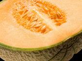 Closeup de melão — Fotografia Stock