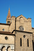 Church of Santa Maria Novella (side view) in Florence — Stock Photo