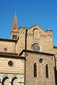 Church of Santa Maria Novella (side view) in Florence — Stok fotoğraf
