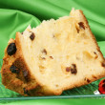 Panettone the italian Christmas cake — Stock Photo #7630632