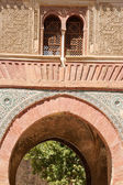 Wine Gate detail in the Alhambra — Stock Photo