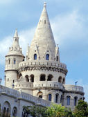 Fishermen's Bastion in Budapest — Foto Stock