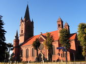 Gothic church in Europe — Stock Photo