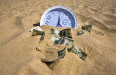 Lost Time and Money Concept — Stock Photo