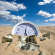 Stock Photo: Lost Time and Money Concept