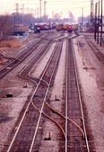 Railroad Yard — Stock Photo