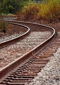 Railroad Curve — 图库照片