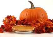 Festive Pumpkin Pie — Stock Photo