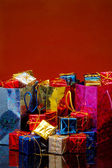 Bags ofGift Boxes — Stock Photo