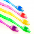 图库照片: Toothbrush Family