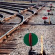 Railyard  Trackage - Stock Photo