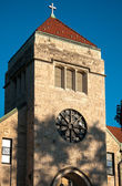 Urban Detroit Area Church — Stock Photo
