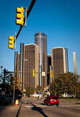 Downtown Detroit — Stock Photo
