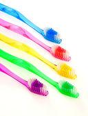 Toothbrush Family — Stock Photo