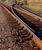 Railyard Trackage — Stock Photo