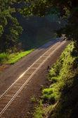 Mainline Railroad Track — Stock Photo