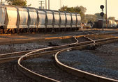 Tanker Train — Stock Photo