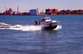 US Coast Gaurd Detroit River — Stock Photo