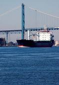 детройт речного судоходства — Стоковое фото