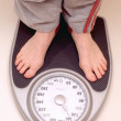 Feet on Weight Scale — Stock Photo #7384632