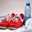Runner Workout Gear — Stock Photo