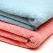 Stockfoto: His and Her Towels
