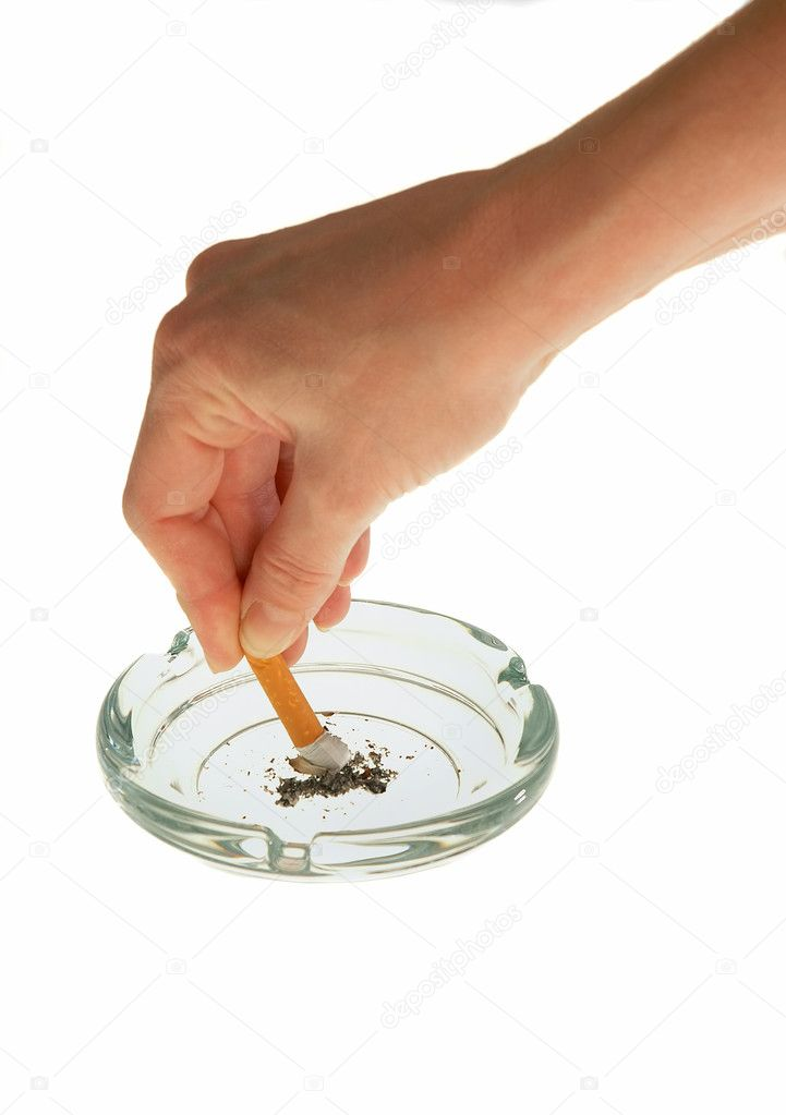 Quitting Smoking — Stock Photo #7429517