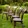 Stock Photo: Summer Backyard Decor