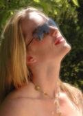 夏の太陽の危険性 — ストック写真